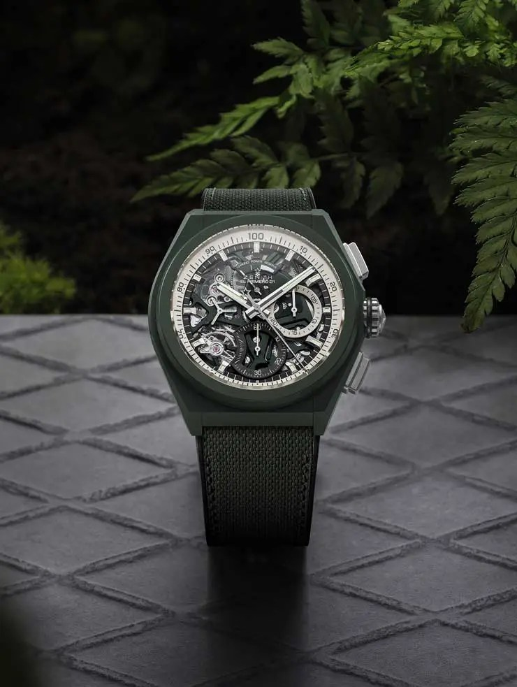 740.Zenith Defy 21 Urban Jungle