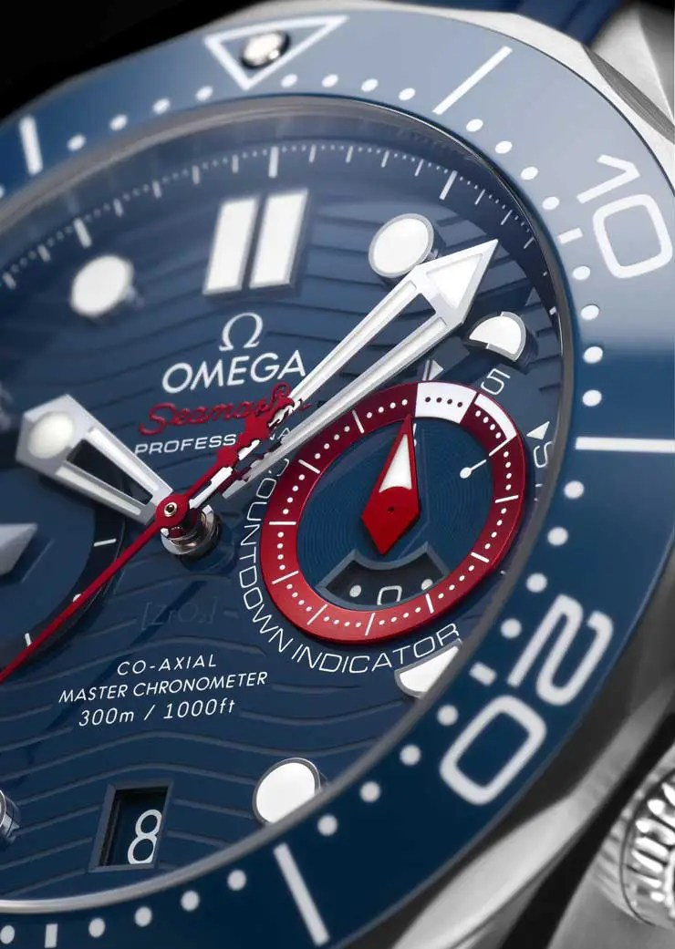 740.Omega Seamaster Diver 300M America's Cup Chronograph