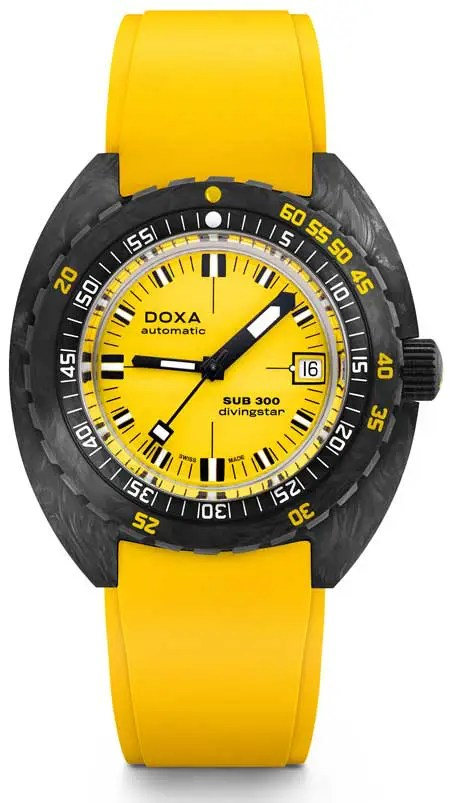 450 diving star yellow doxa