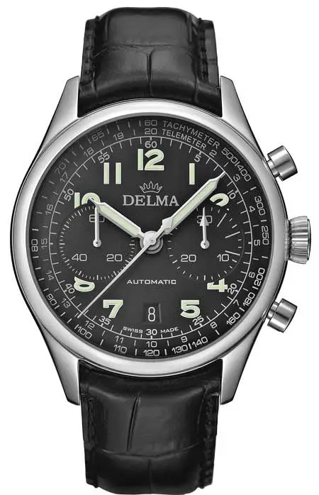 450.Delma Heritage Chronograph LE