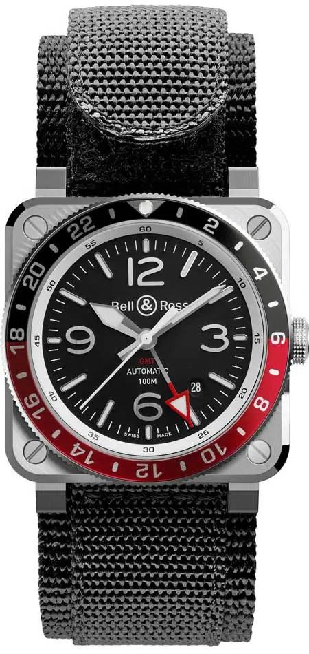 450BR03-93 GMT: neue GMT-Variante von Bell & Ross