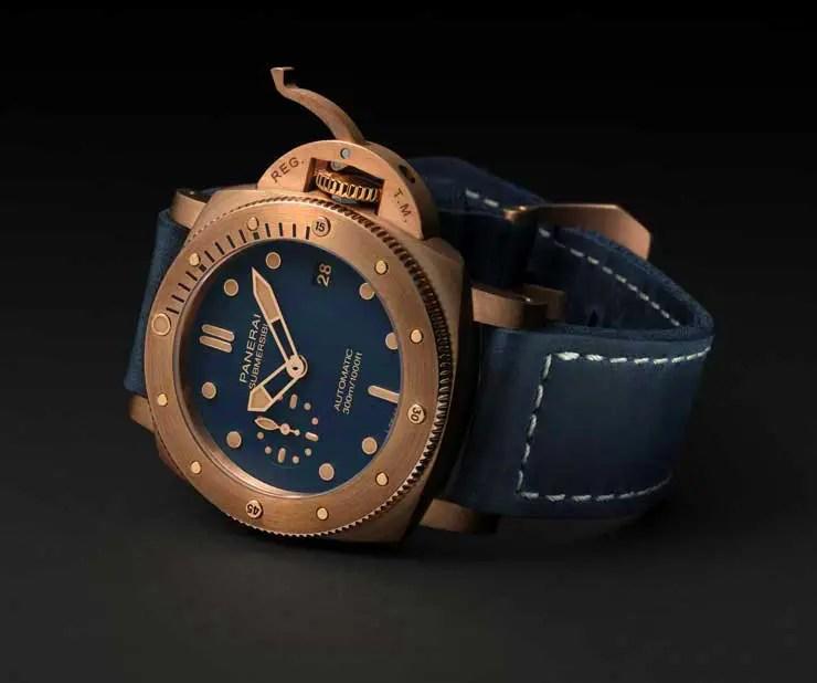 740.1.2 Panerai Submersible Bronze Blu Abisso