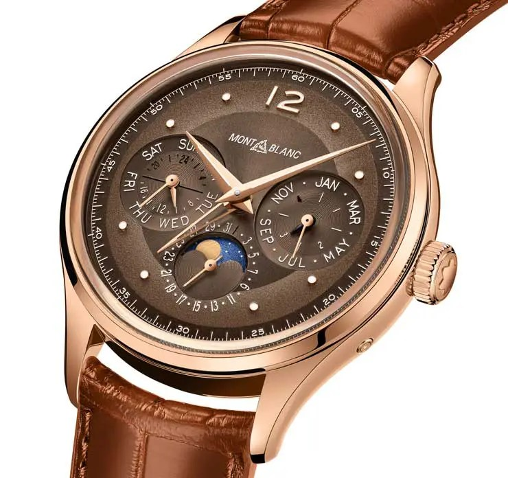 740.3 Montblanc Heritage Manufacture Perpetual Calendar Limited Edition 100