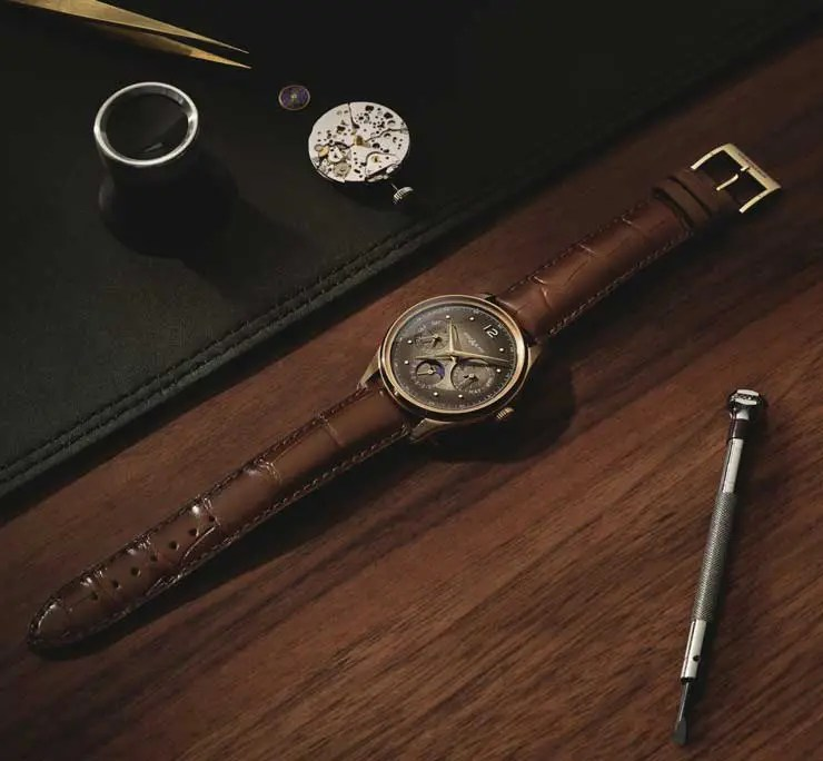 740.4 Montblanc Heritage Manufacture Perpetual Calendar Limited Edition 100