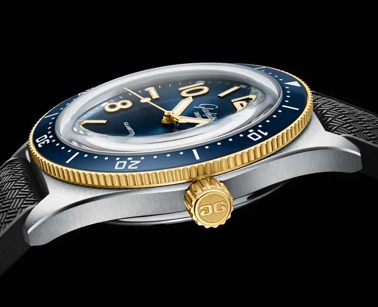 740.6 glashütte original SeaQ im Bi-Color Look se