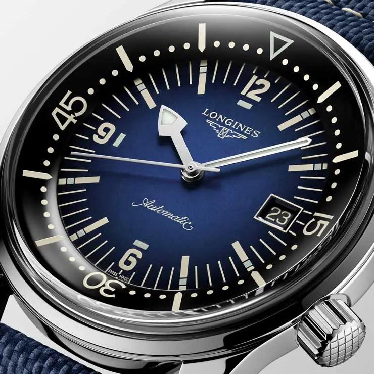 740.The Longines Legend Diver Watch