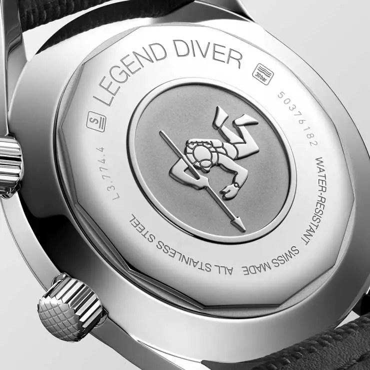 740_The Longines Legend Diver Watch