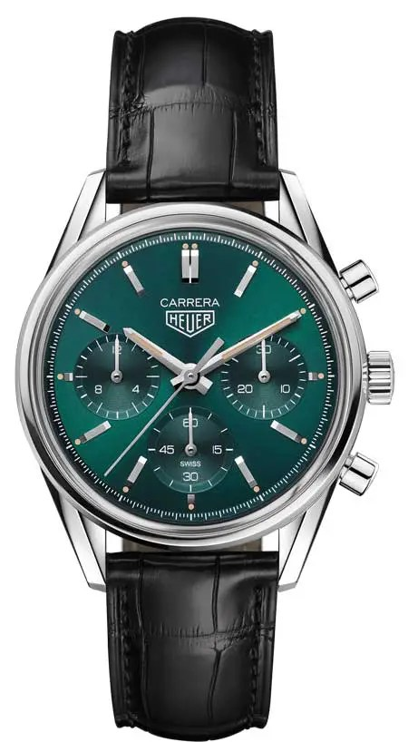 450.TAG Heuer Carrera Green limited Edition
