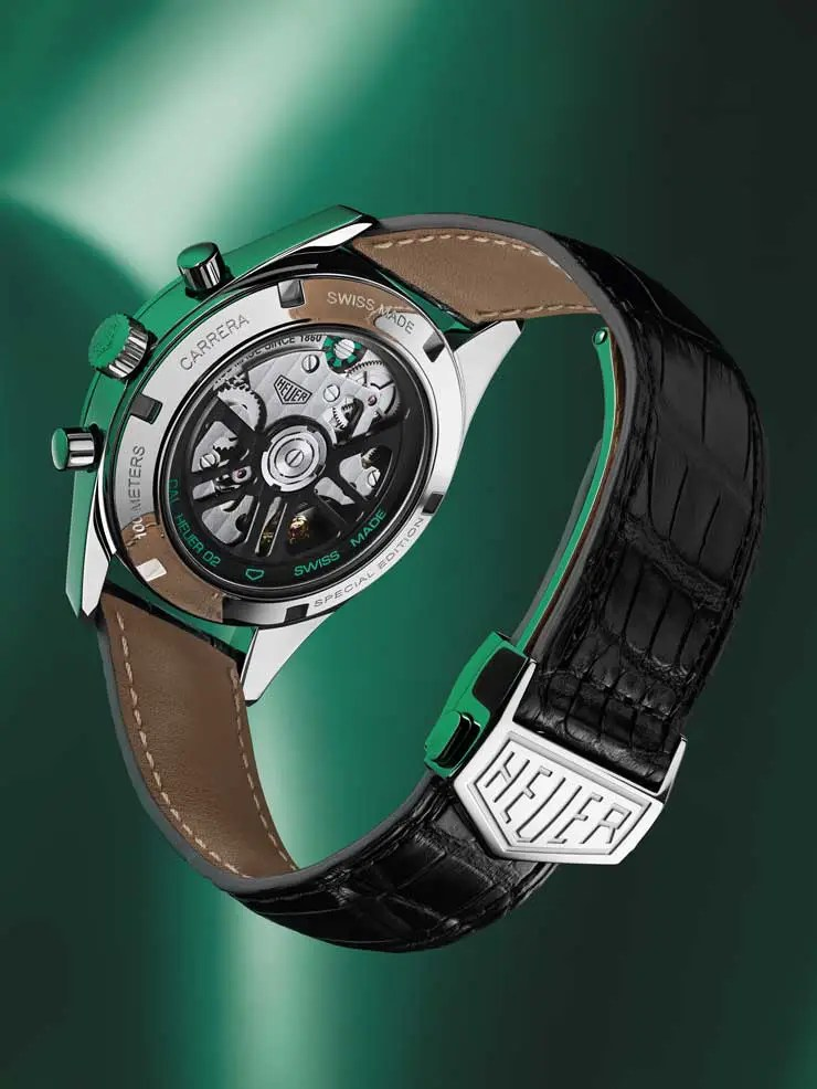 740 TAG Heuer Carrera Green limited Edition