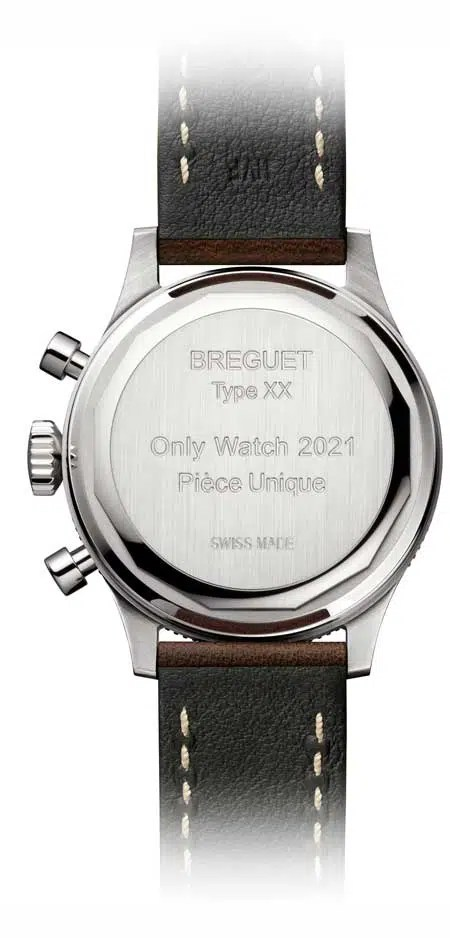 450.rs Die Breguet Type XX Only Watch 2021