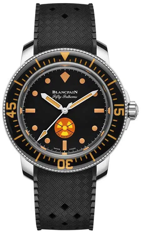 450.vs Blancpain Tribute to Fifty Fathoms No Rad für Only Watch