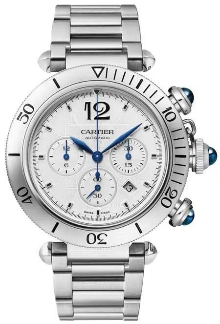 450m Pasha de Cartier Chronograph