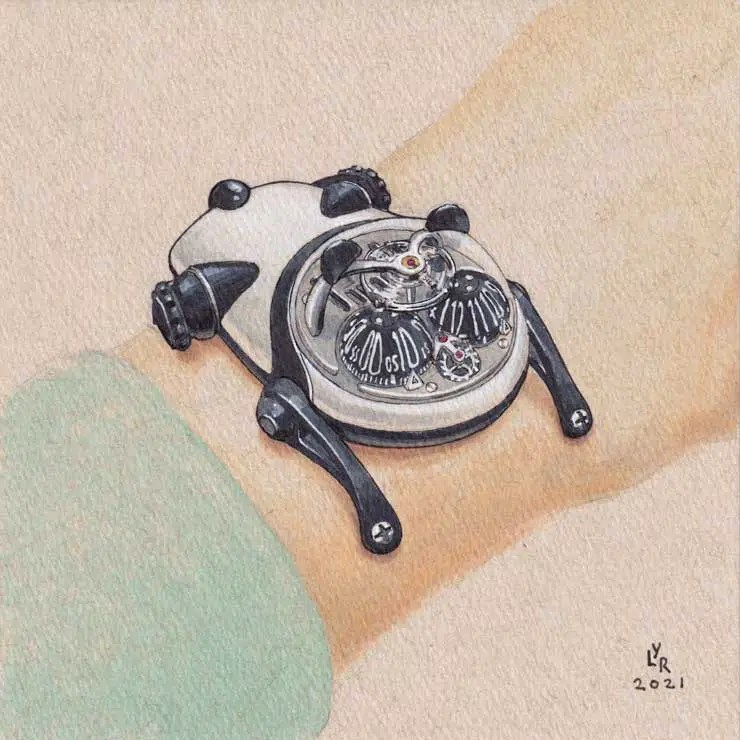 740.2MB&F HM10 Panda for Only Watch