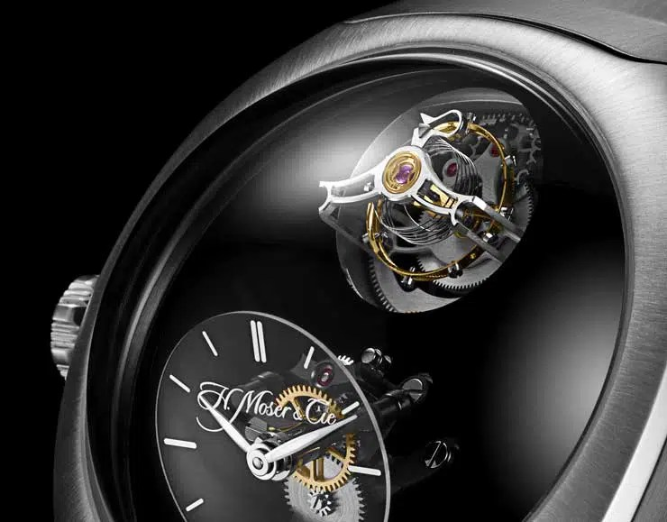 740.2 H.Moser & Cie Streamliner Cylindrical Tourbillon Only Watch