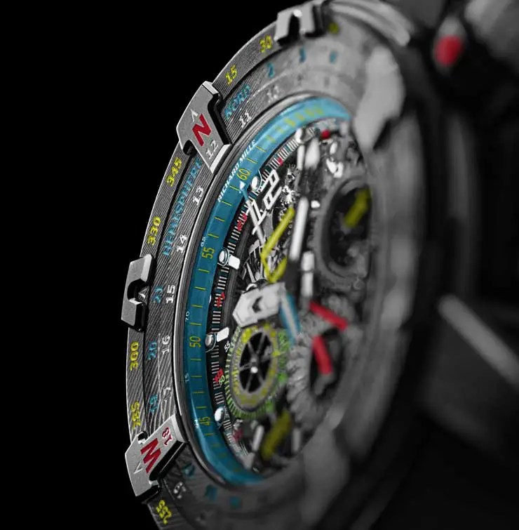 740.3 rm60 01RM 60-01 Automatic Flyback Chronograph Les Voiles de St Barth