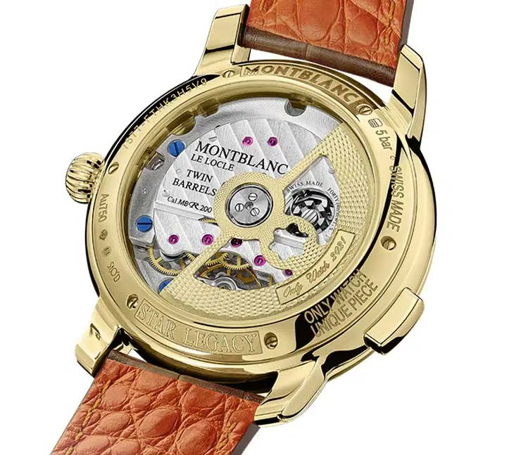 740.4 Montblanc Star Legacy Nicolas Rieussec Chronograph Only Watch