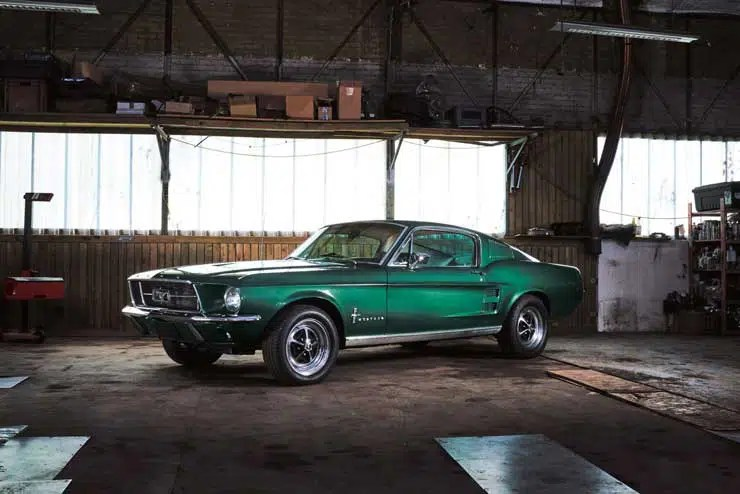 740 57 ford mustang rgb