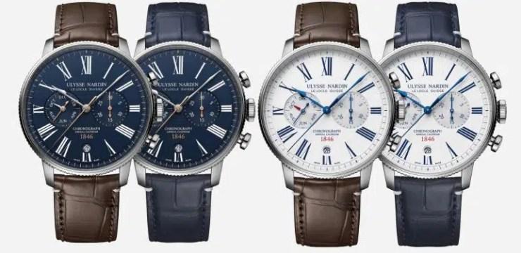 marine torpilleur annual chronograph