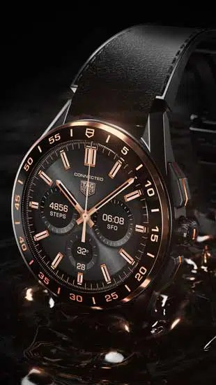 310.2 TAG Heuer Connected Bright Black Edition