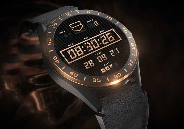 740.4 TAG Heuer Connected Bright Black Edition