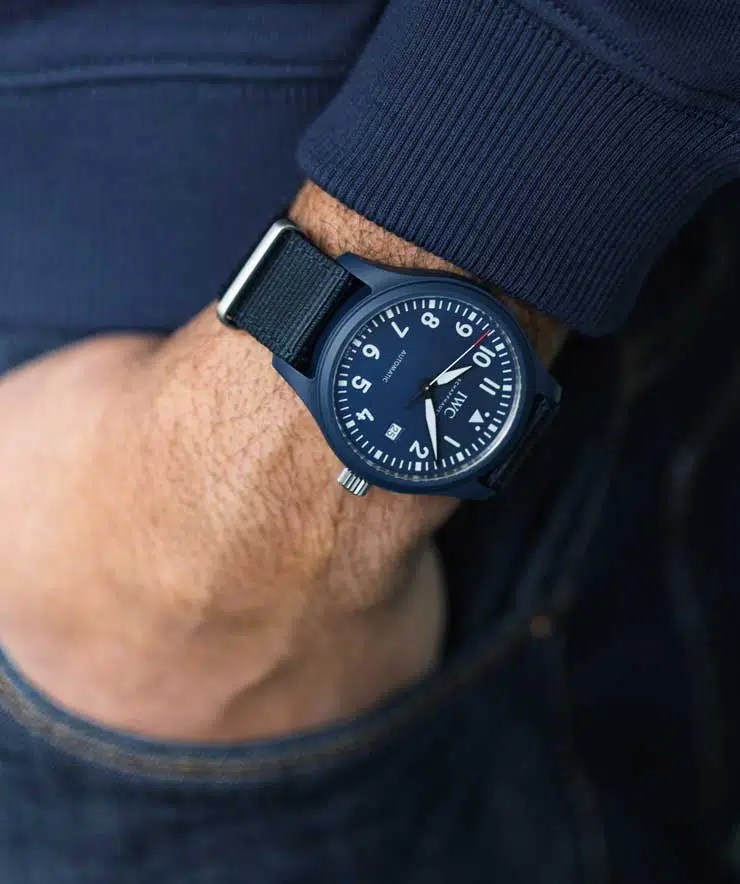 "740.iw328101 IWC Pilot's Watch Automatic Edition ""Laureus Sport for Good"""