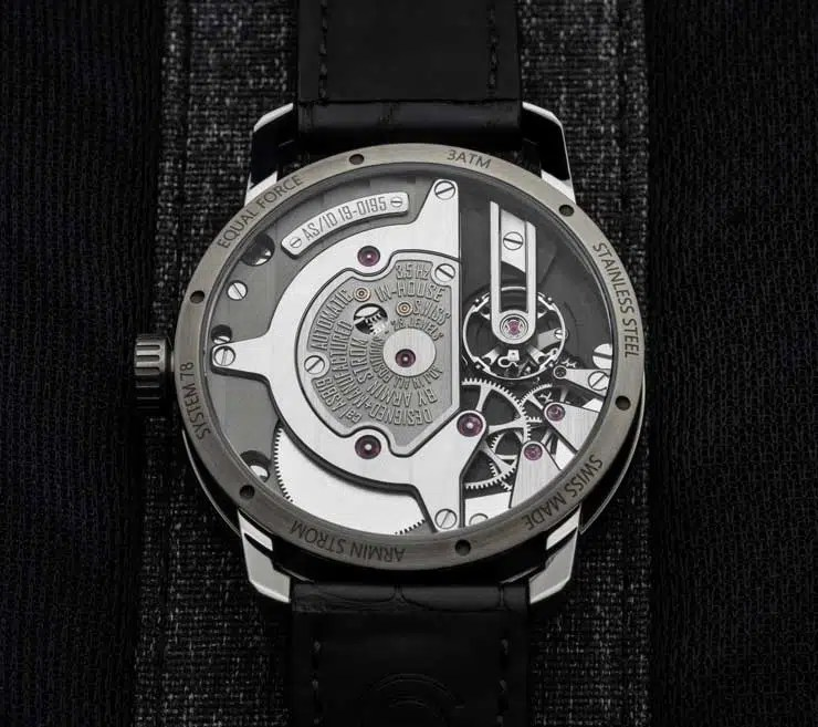 740.rs Armin Strom Gravity Equal Force Ultimate Sapphire