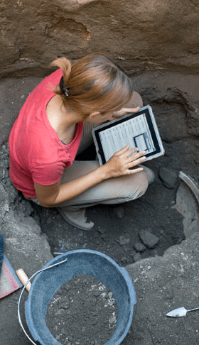 iPad in the trenches