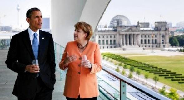 Obama Merkel Quelle Digg