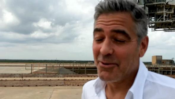 """Don't wanna brag"" -George Clooney"