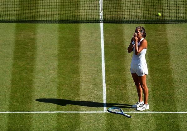Zwei Jahre nach ihrem letzten Treffen im Wimbledon Finale, werden Serena Williams und Angelique Kerber wieder auf demselben Rasen aneinander geraten. (Getty Images)