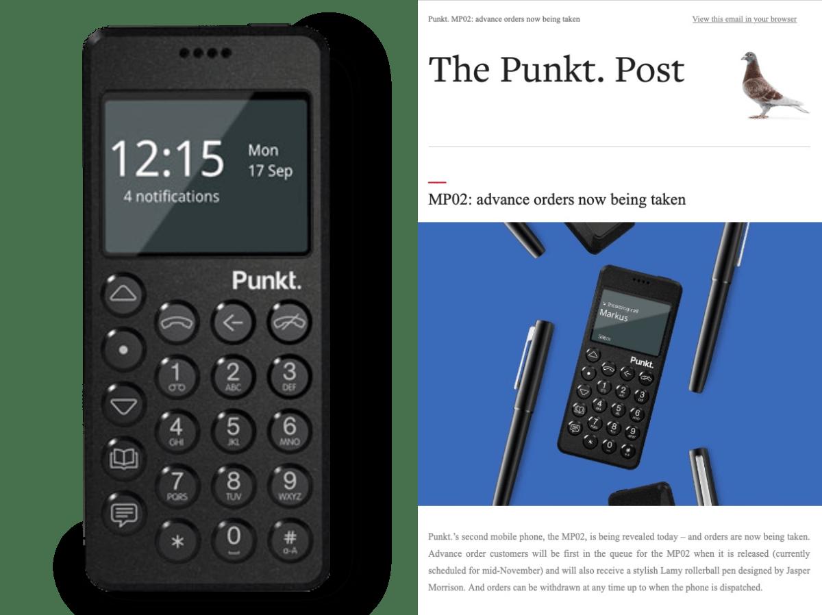 Punkt Tronics stellt sein nächstes, in der Schweiz gefertigtes Handy vor.