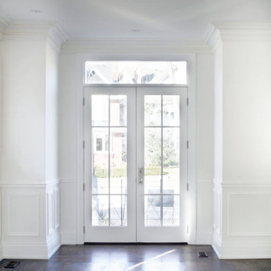 french doors with side panels neuffer