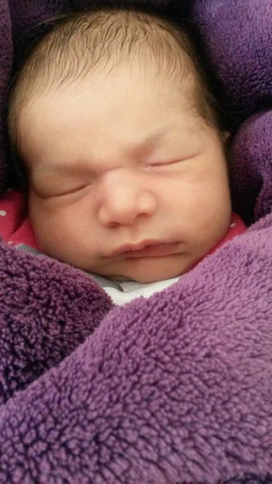 Madeline nee le 16 juillet 2014
