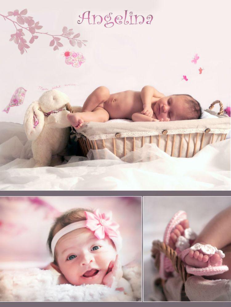 Angélina, née le 2 août.