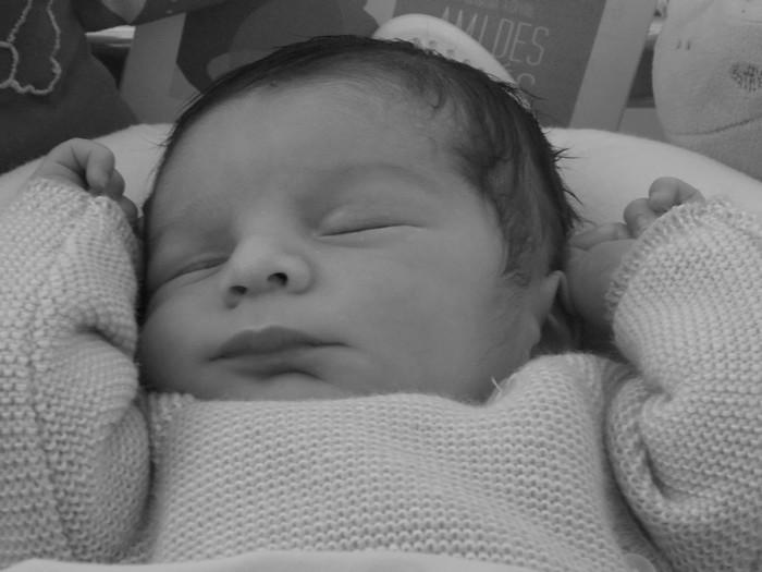 Antonin, né le 8 octobre 2014