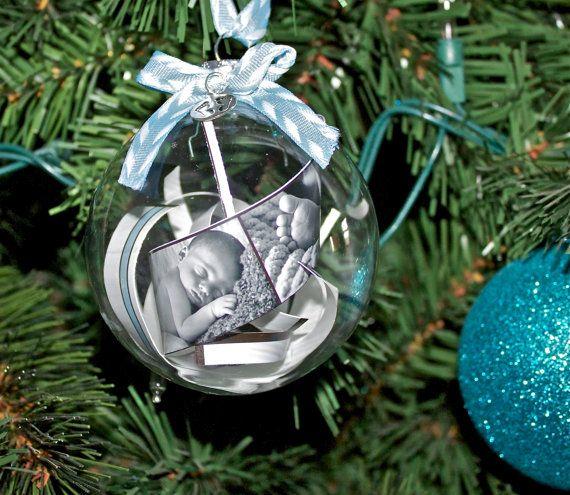 DIY des boules de Noel pour annoncer sa grossesse ou le sexe de bebe4