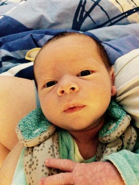 Léandre, né le 24 octobre 2014