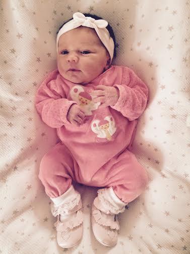 Romane, née le 13 juillet 2015