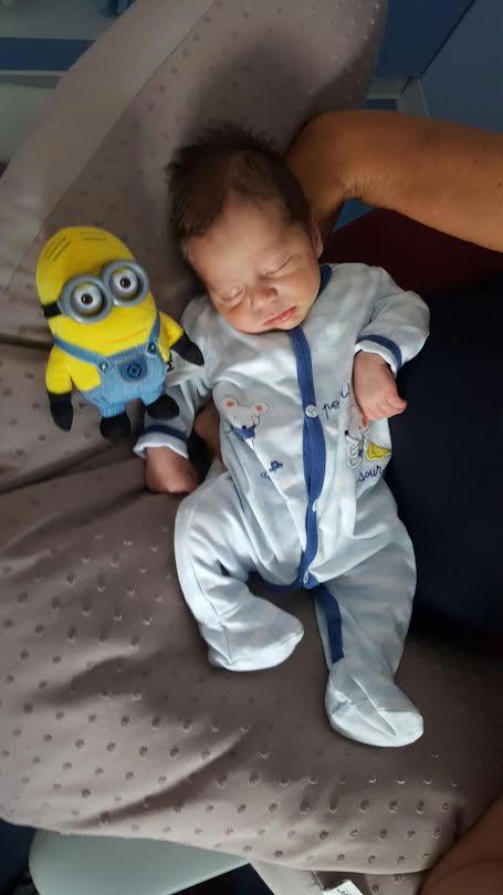 Hugo, né le 19 juillet