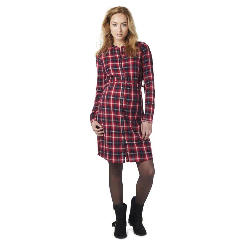 Robe à carreaux rouge, Esprit for Mums, La Redoute, 69.99€
