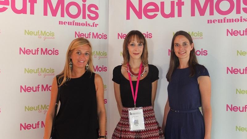Marjorie Auret de Chicco et Vanessa de Neuf Mois