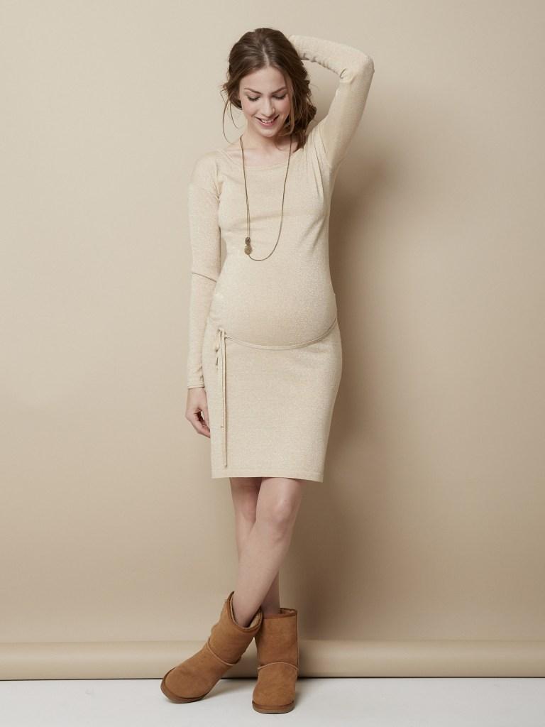 Robe de grossesse en tricot vertbaudet