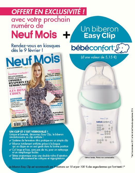neuf mois 151 avec biberon bebe confort