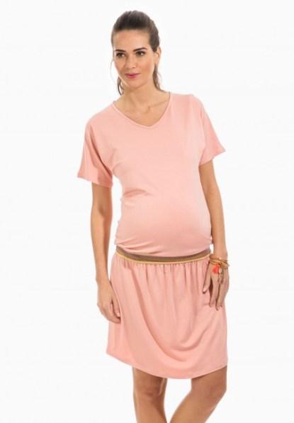 robe grossesse rose quartz envie de fraise 29,99 euros