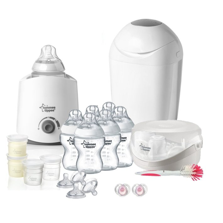 tommee tippee Kit Naissance Complet Blanc Transparent