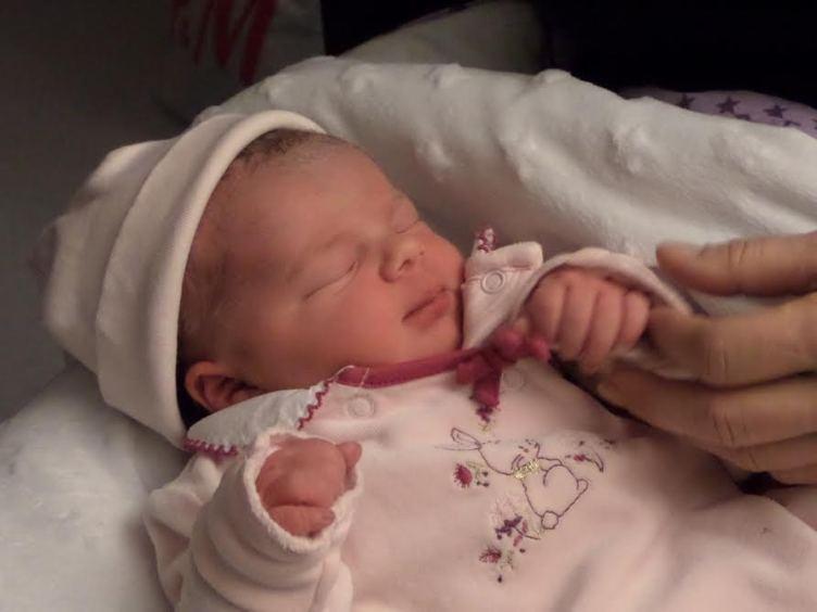 Pauline, née le 3 février