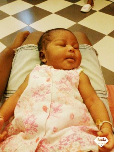 Maëlle, née le 25 mars