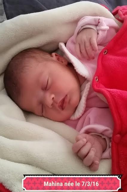 Mahina, née le 7 mars