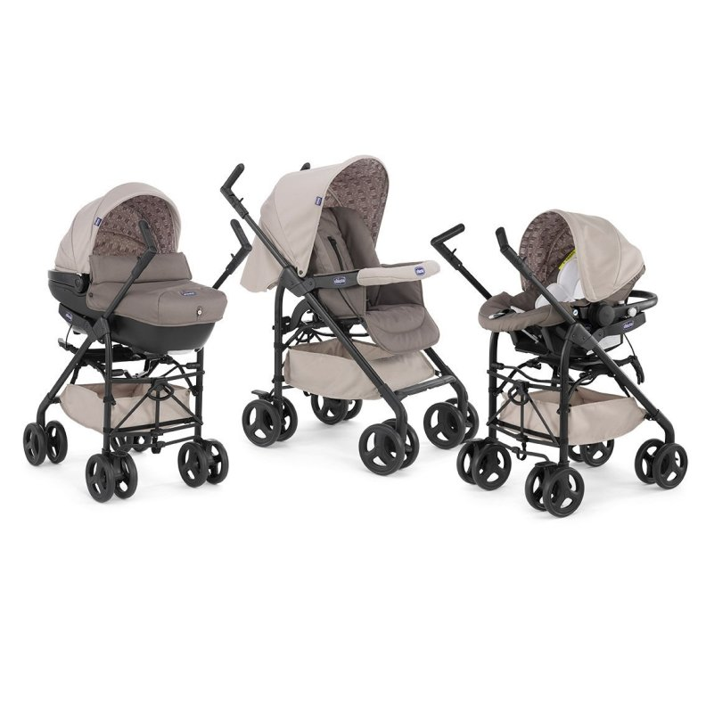 Chicco - Trio Sprint Poussette Sand - Collection 2016