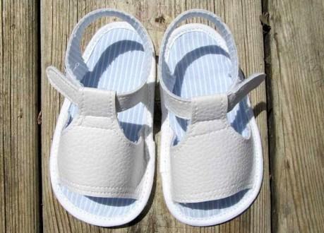 diy sandales pour bebe 4